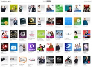 top podcasts itunes