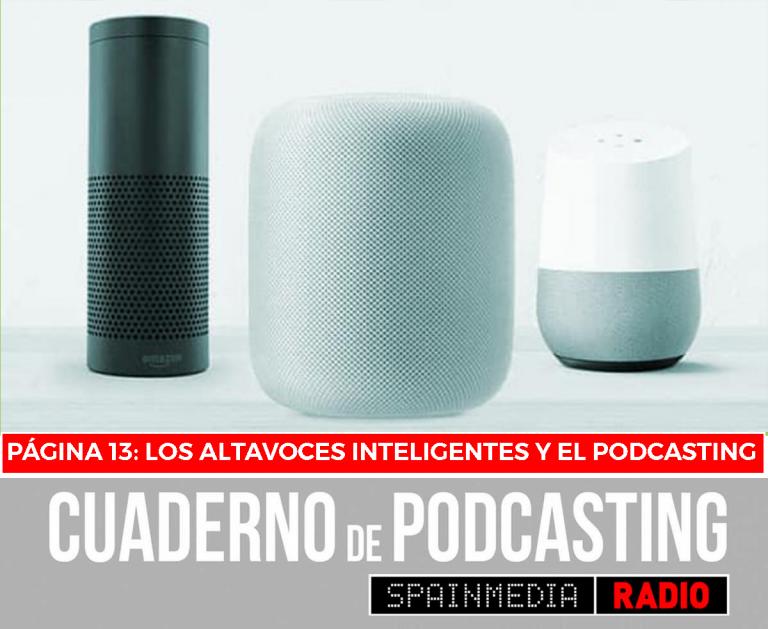 cuaderno de podcasting página 13 los altavoces inteligentes y el podcasting