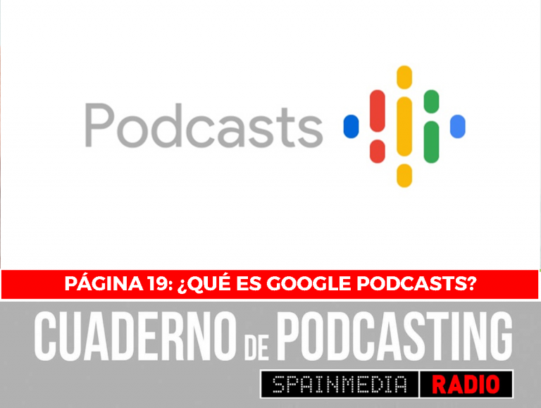 cuaderno de podcasting página 19 qué es google podcasts