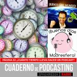 Página 22: ¿Cuánto tiempo lleva hacer un podcast?
