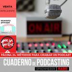 Página 24: Métodos para grabar un podcast
