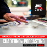Página 25: Mesas de sonido e interfaces de audio.