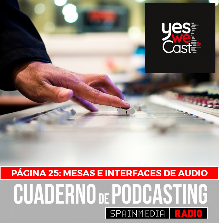 cuaderno de podcasting página 25 mesas de sonido e interfaces de audio