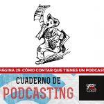 Página 29: Cómo contar que tienes un podcast