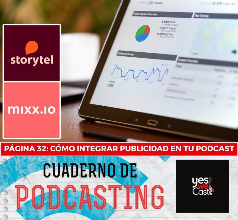 cuaderno de podcasting página 32 cómo integrar publicidad en tu podcast