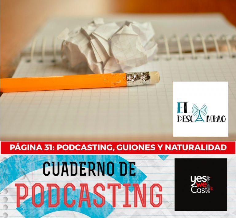 cuaderno de podcasting página 31 podcasting guiones y naturalidad