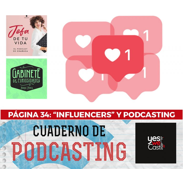 Cuaderno de podcasting - Página 34 - Influencers y podcasting