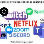Boom de contenidos, boomer de contenidos